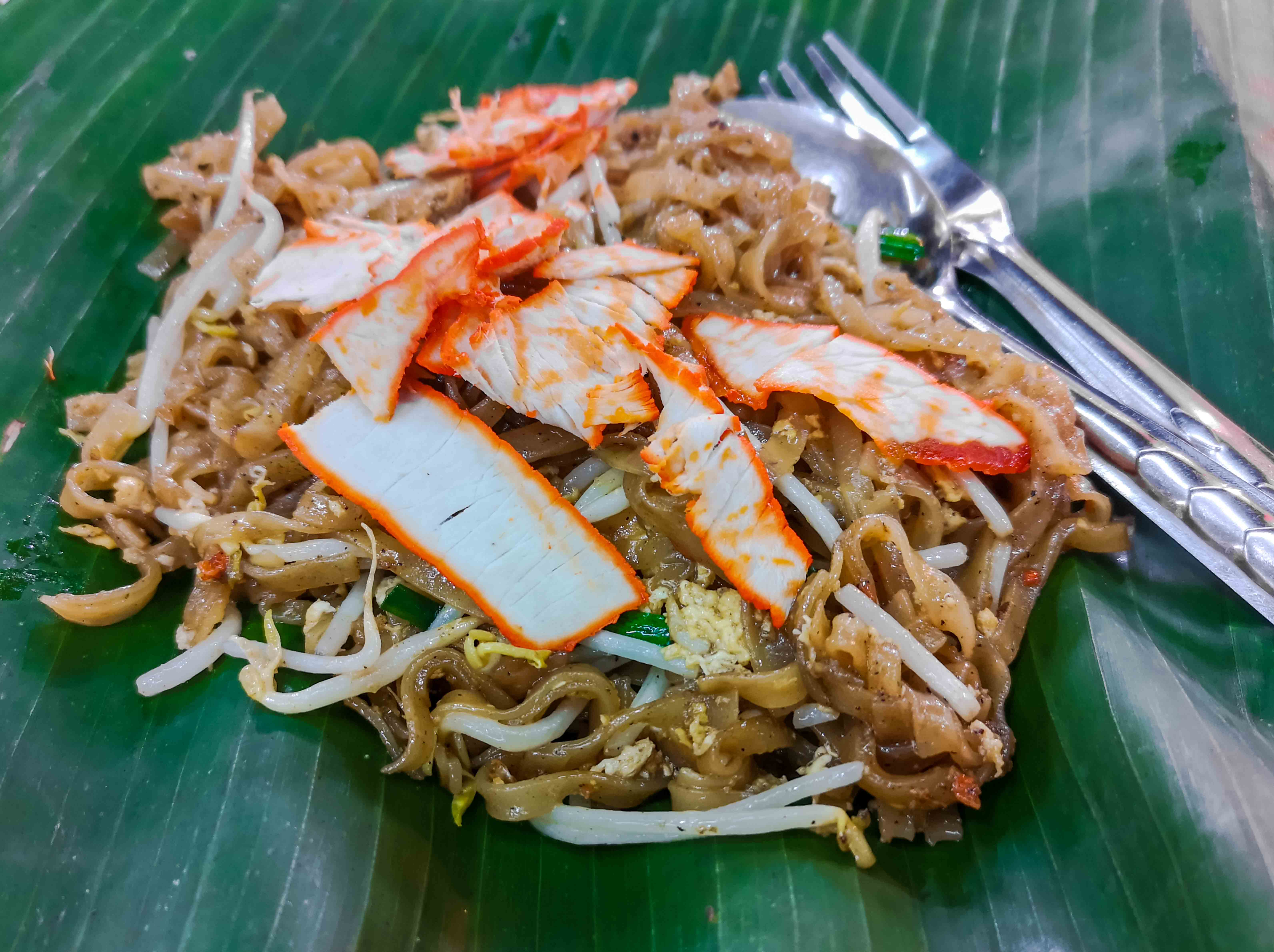 Pad Thai with Red Pork in Chumphon
