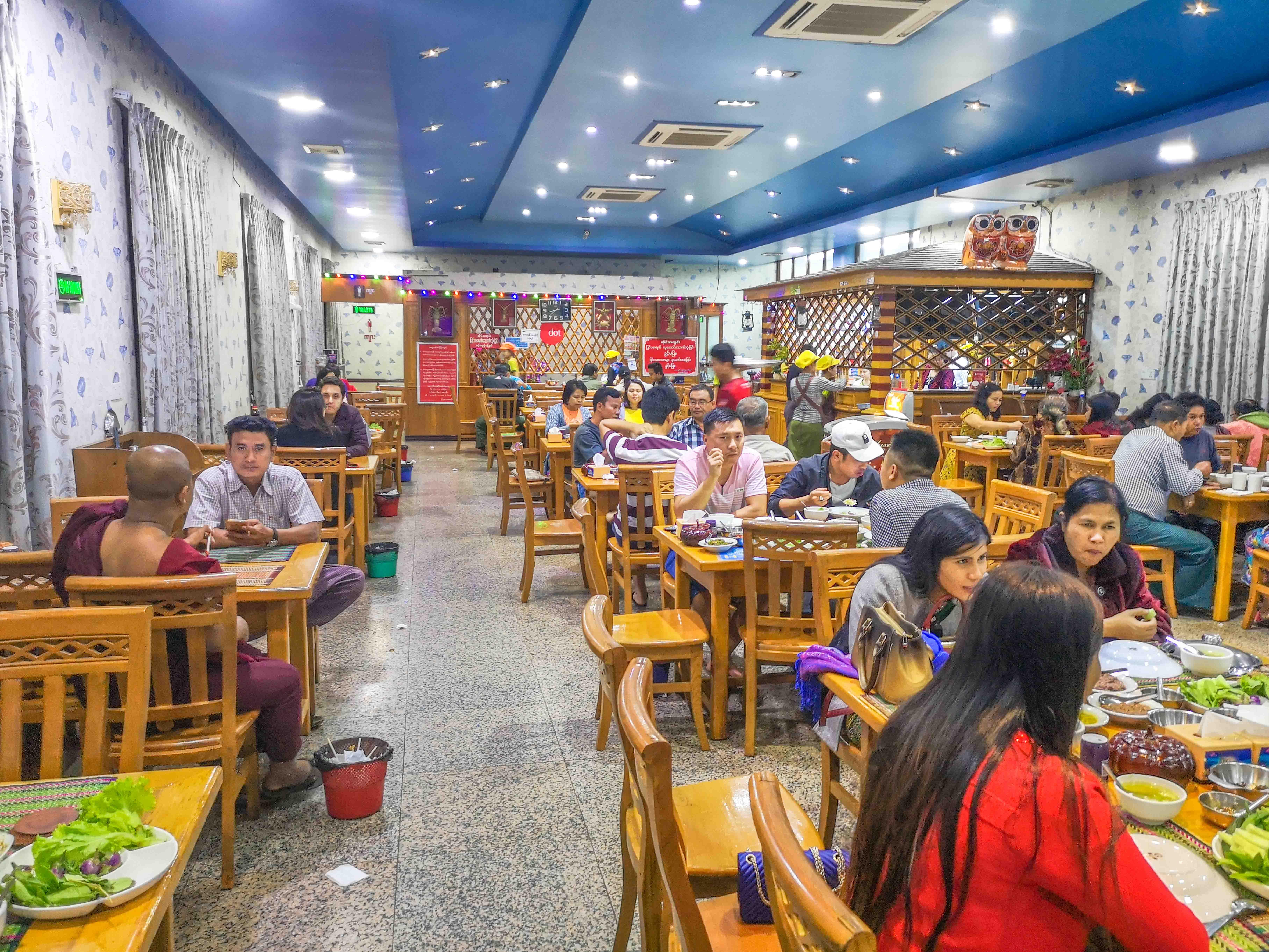 Gastraum Aye Myit Tar Myanmar Restaurant in Mandalay