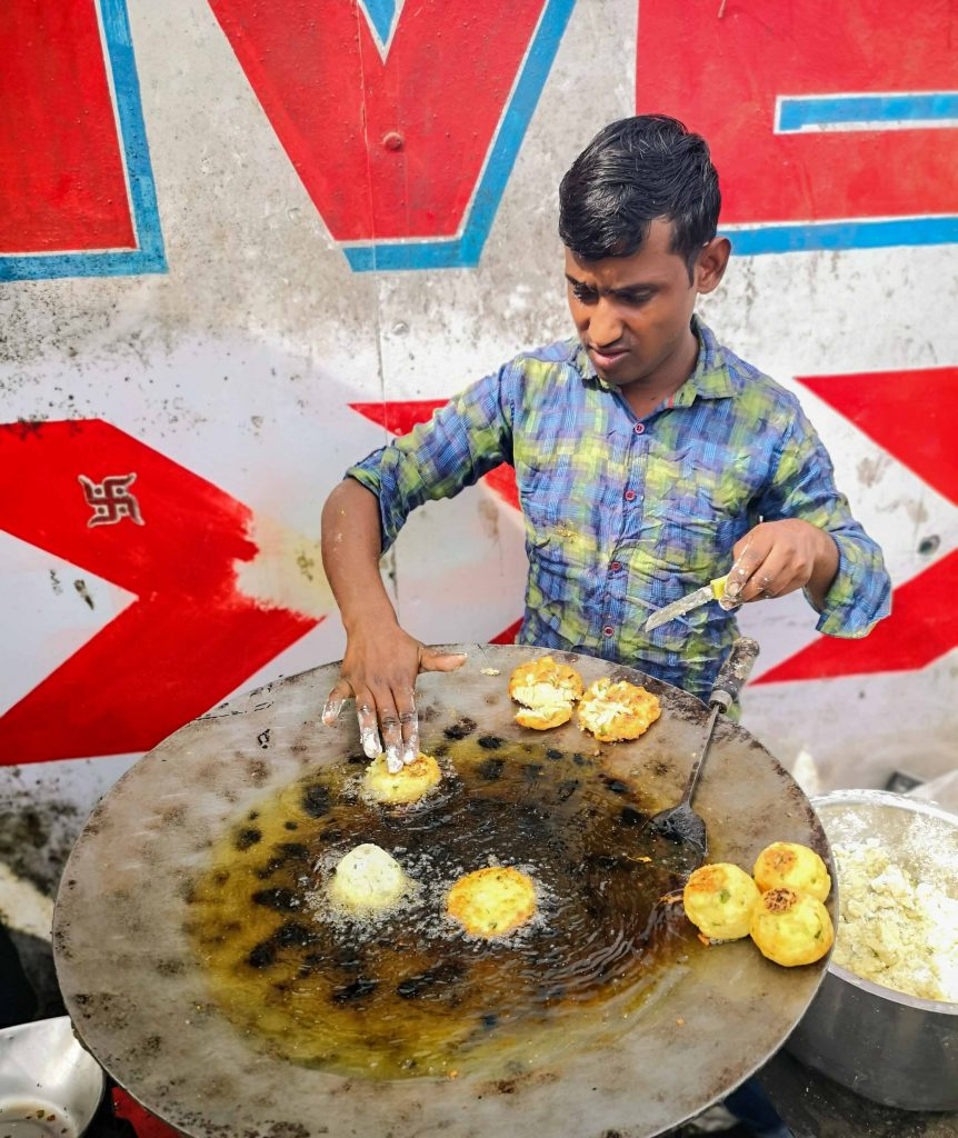 Streetfood in Indien