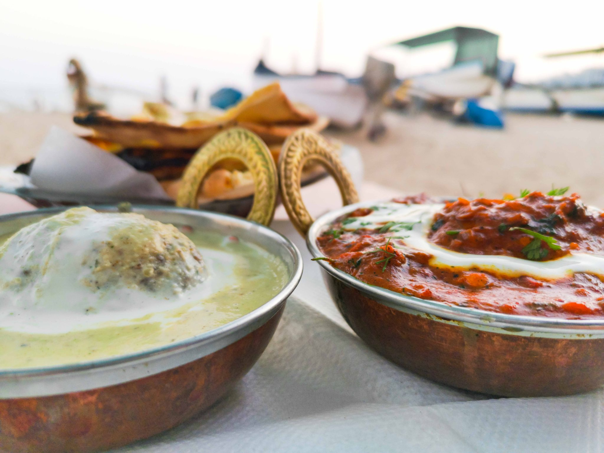 Restaurants in Goa am Strand