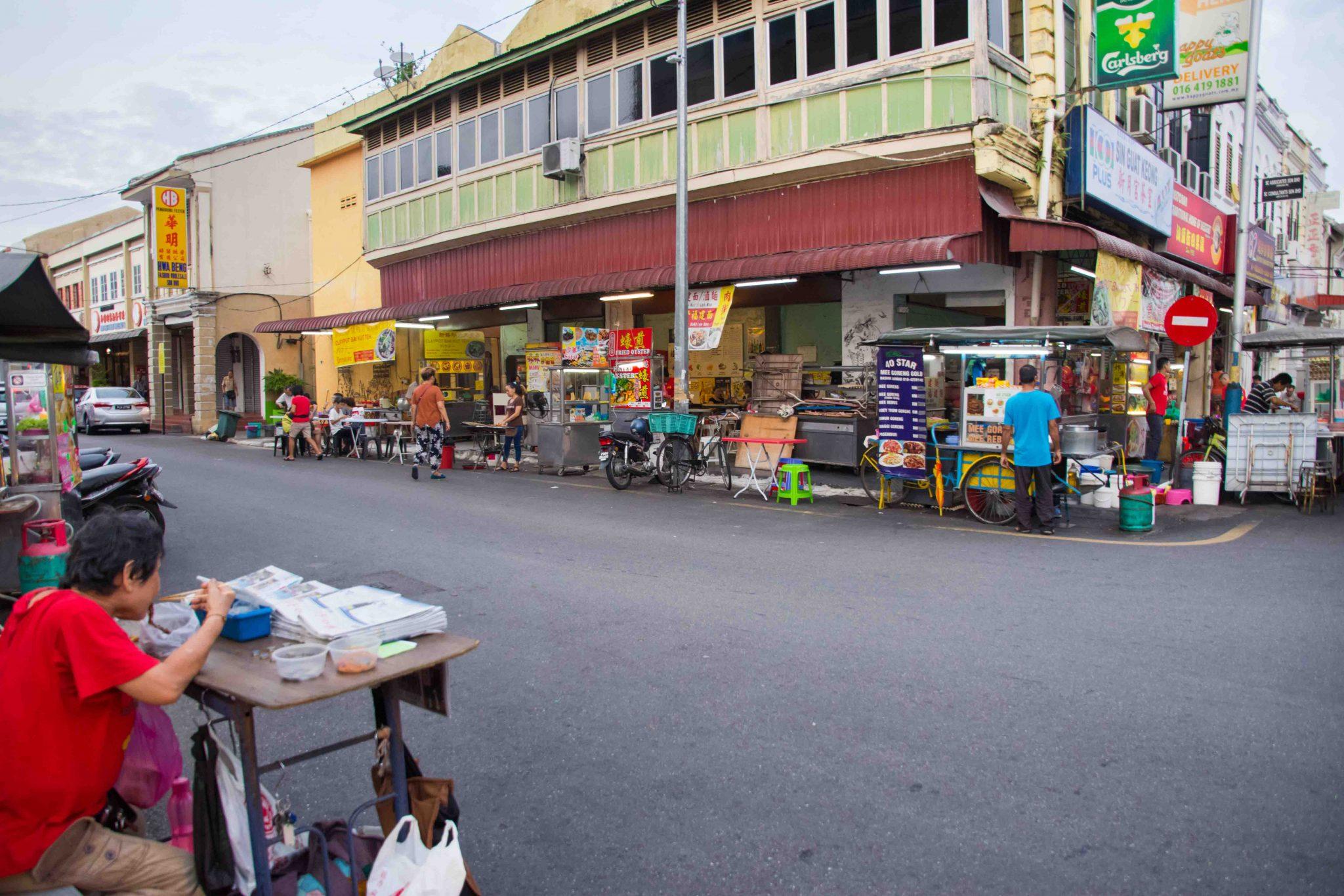 Malaysische Küche in George Town: Kimberley Street Food Night Market