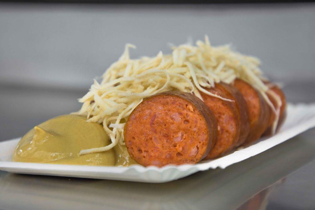 Würstelstand Wien Meterwurst