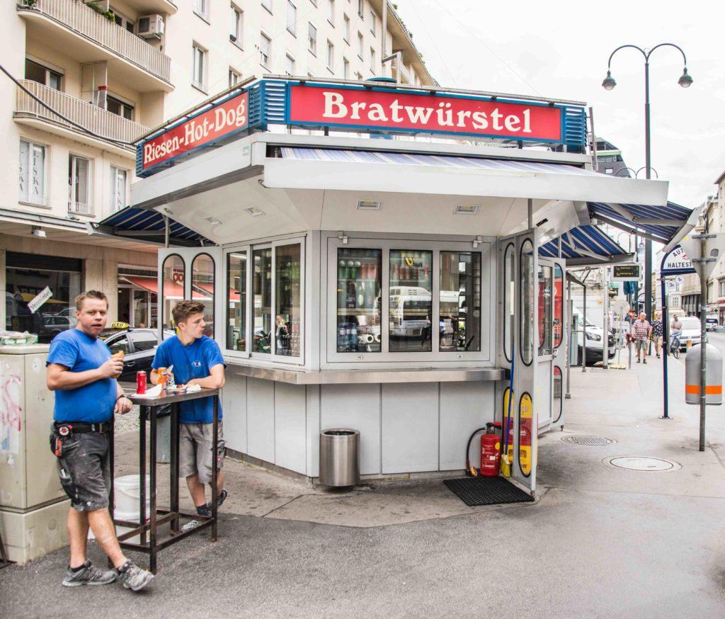 Würstelstand Wien Hoher Markt