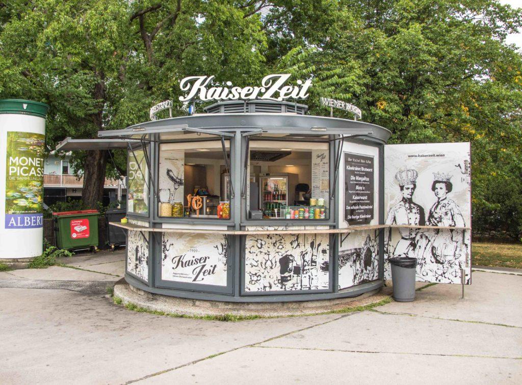 Würstelstand Wien KaiserZeit
