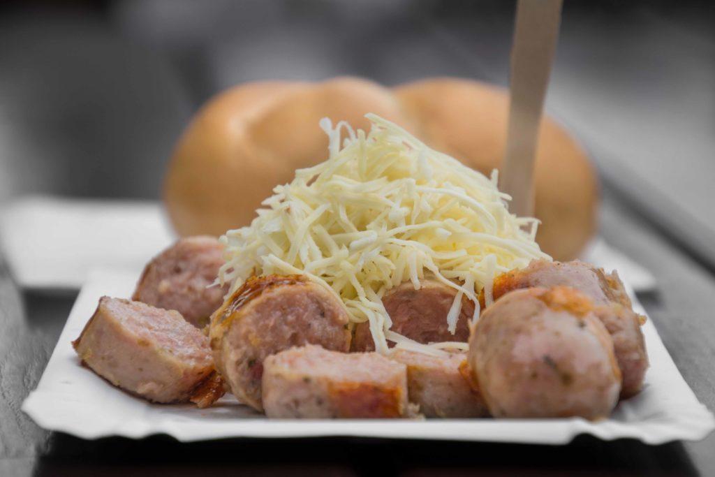 Würstelstand Wien Kalbswurst