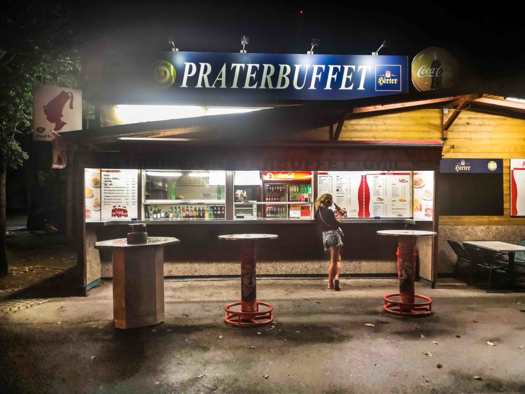 Würstelstand Wien Praterbuffet