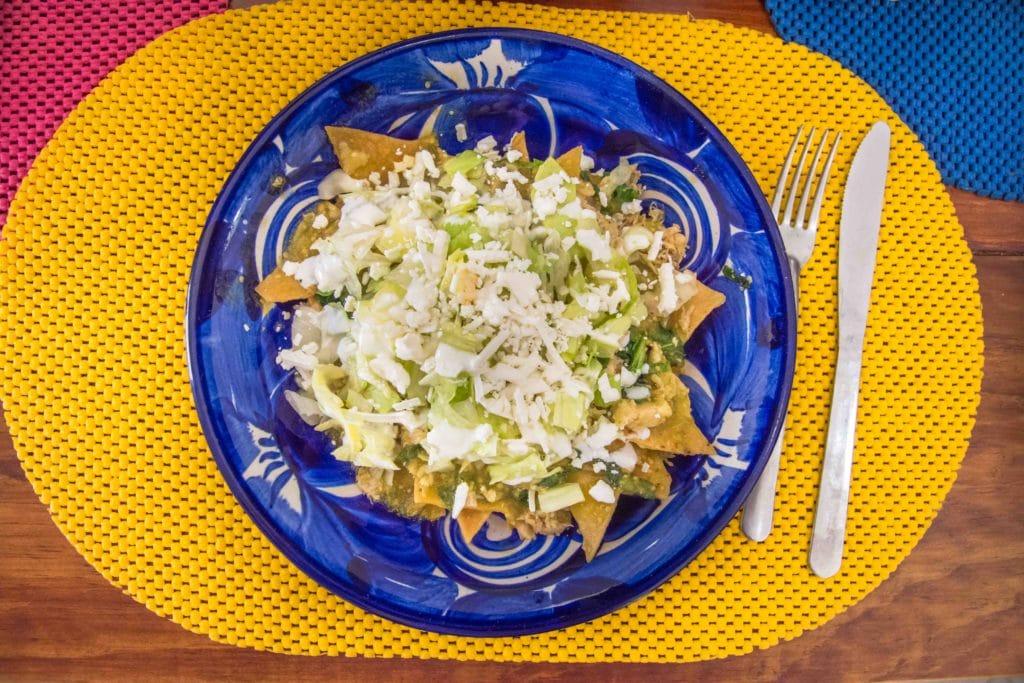 Essen im El Capricho