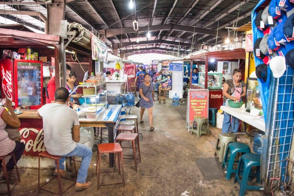 Streetfood am Markt in Merida