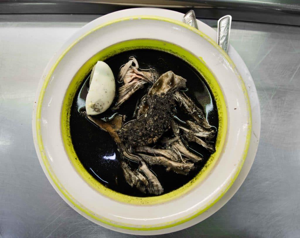 Essen in Merida: Relleno Negro