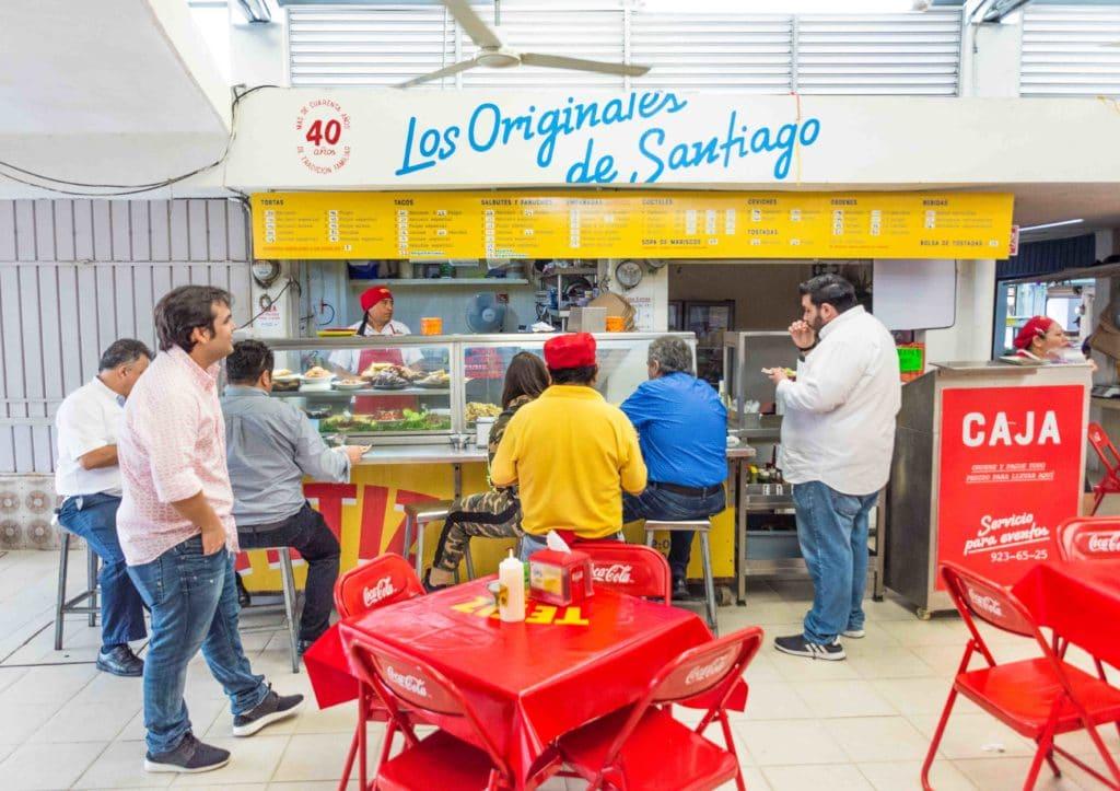 Essen in Meridida bei Los Orginales de Santiago
