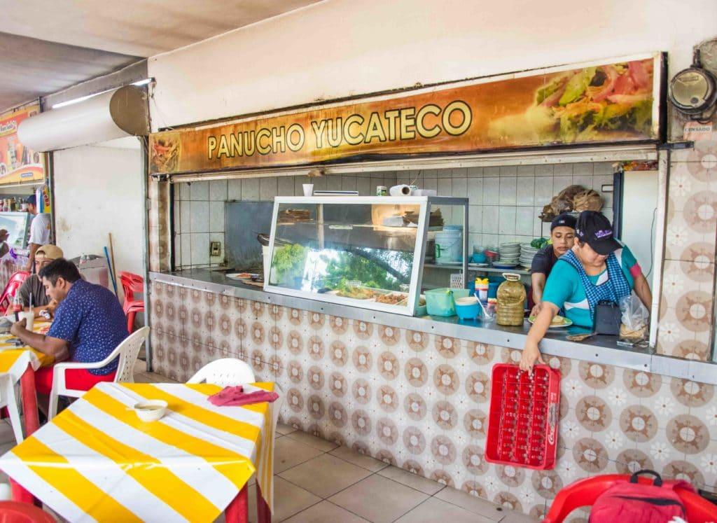 Marktstand in Merida