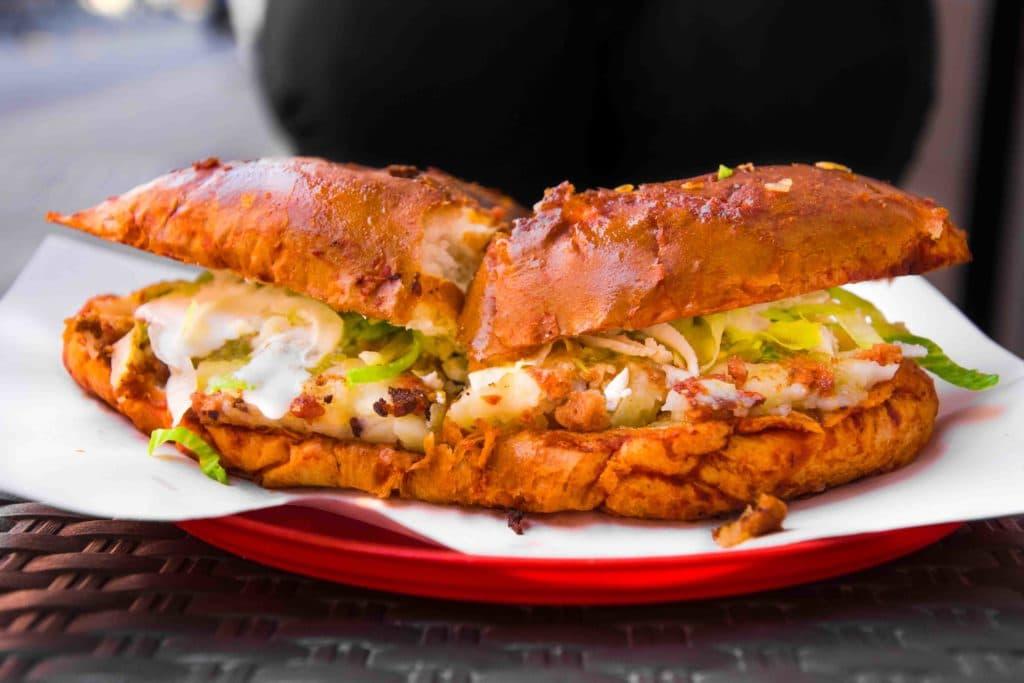 Mexico City Tipps: Streetfood Pambazo