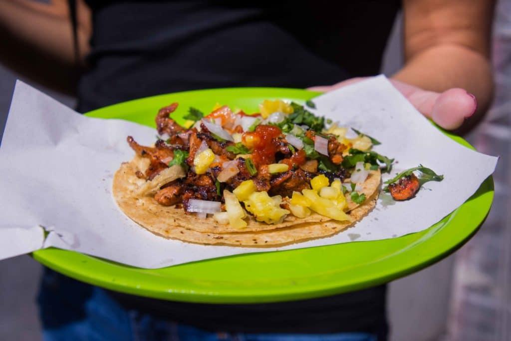 Bunt und lecker: Taco Pastor