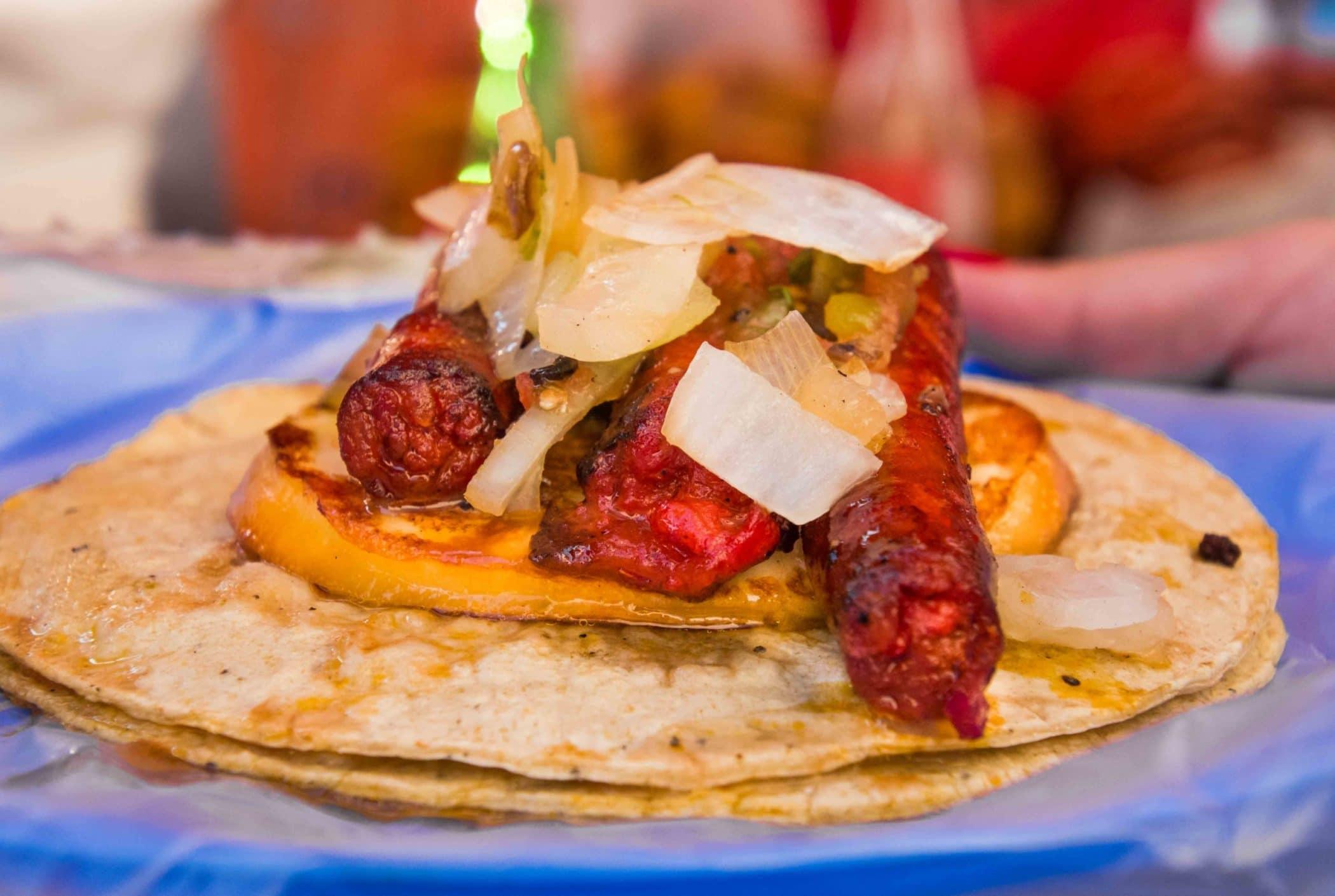 Tacos in Mexico City