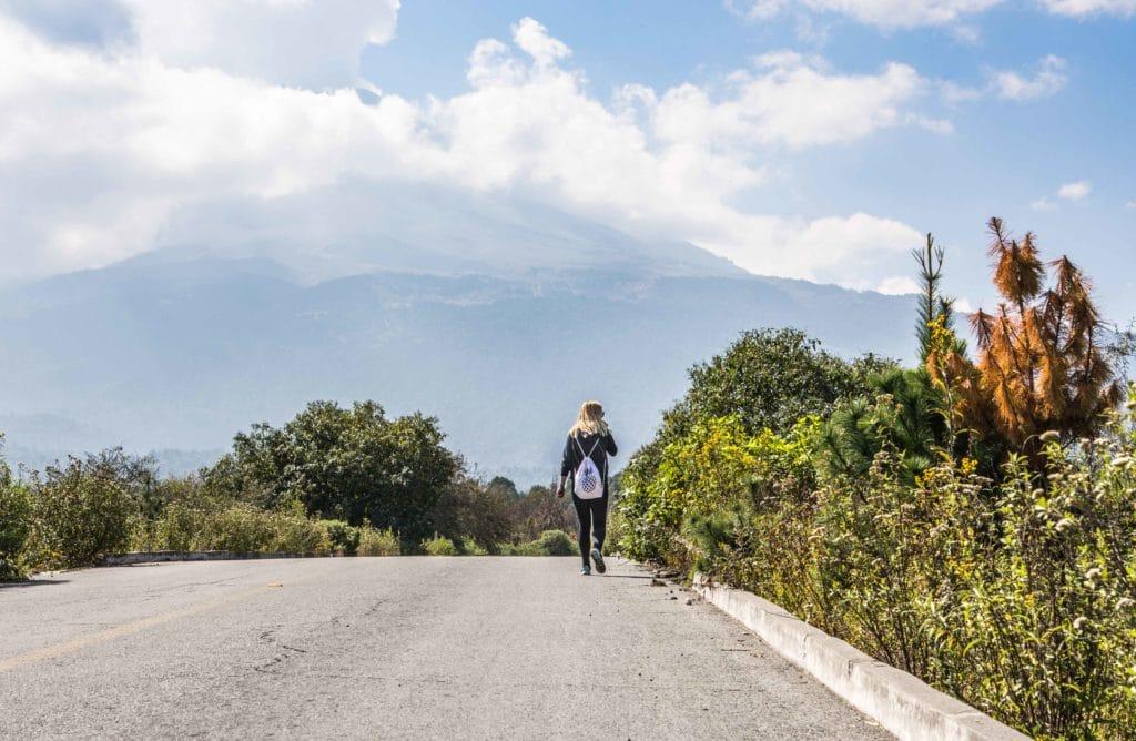 Popocatepetl in Mexiko