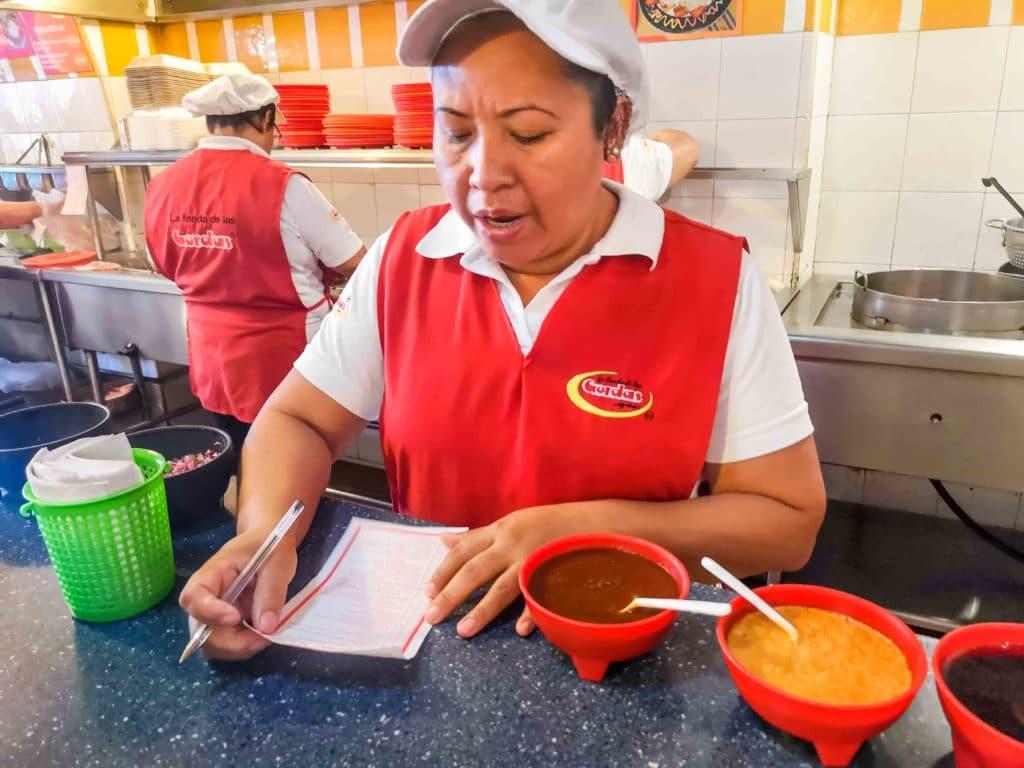 Gorditas in Veracruz