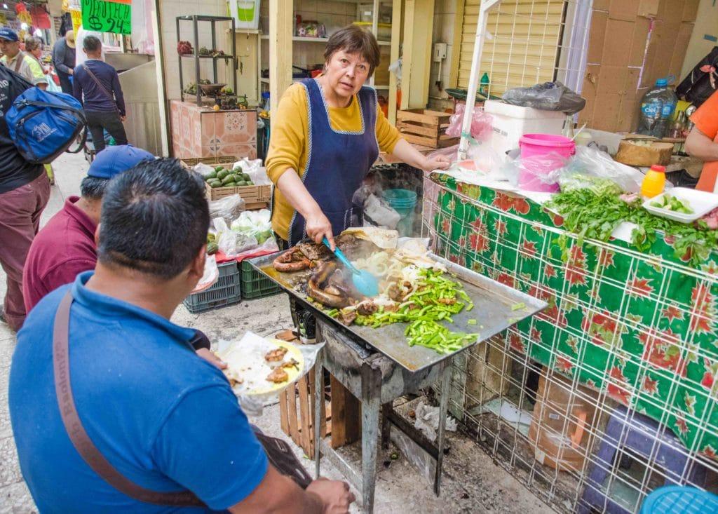 Märkte in Mexico City: Typischer Stand