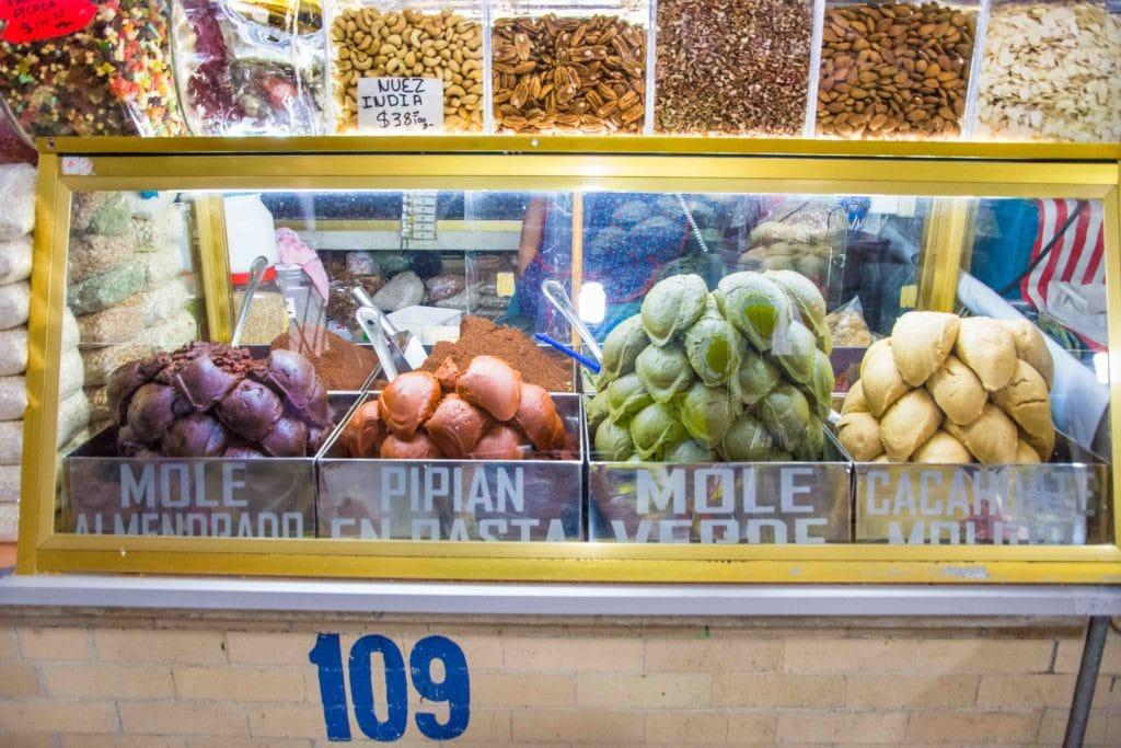 Märkte in Mexico City: Mole