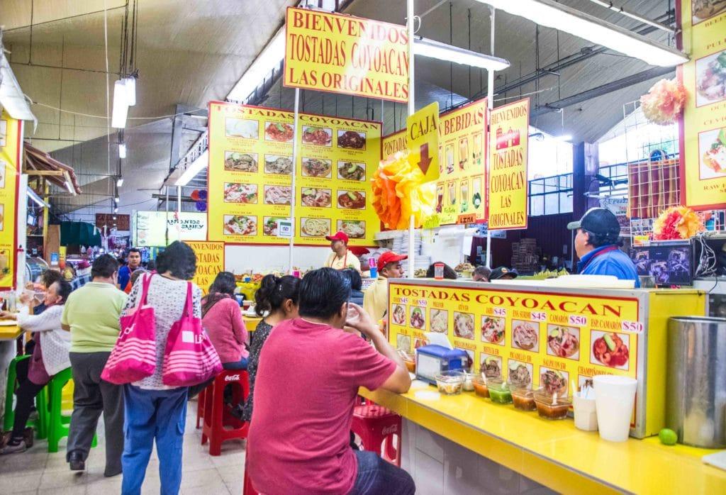 Märkte in Mexico City: Coyocan