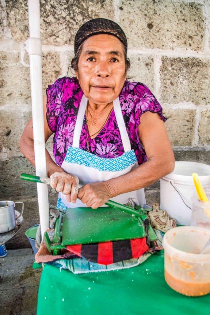 Frisch und lecker in Oaxaca