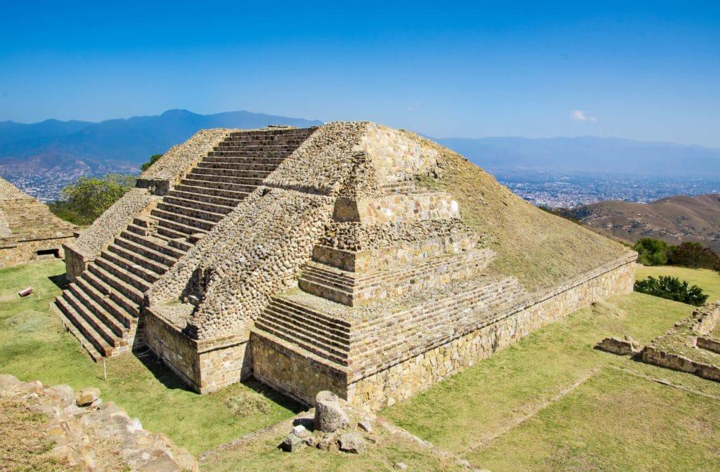 Monte Alban in Oaxaca
