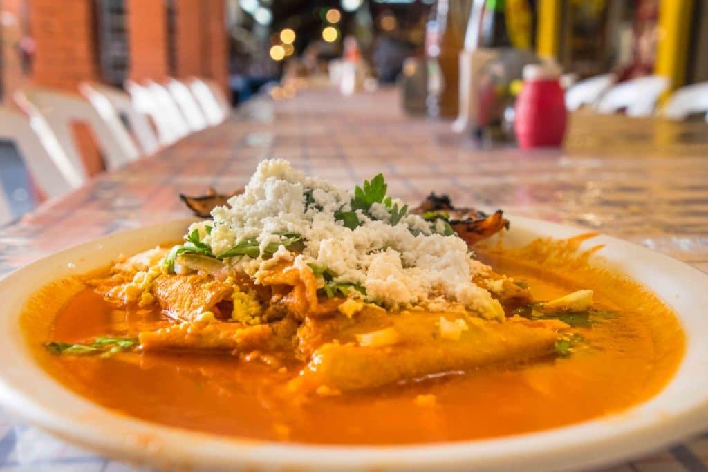 Entomatados in Oaxaca