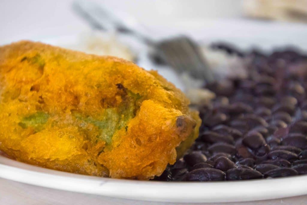 Chile Relleno - besonders lecker auf Märkten in Oaxaca
