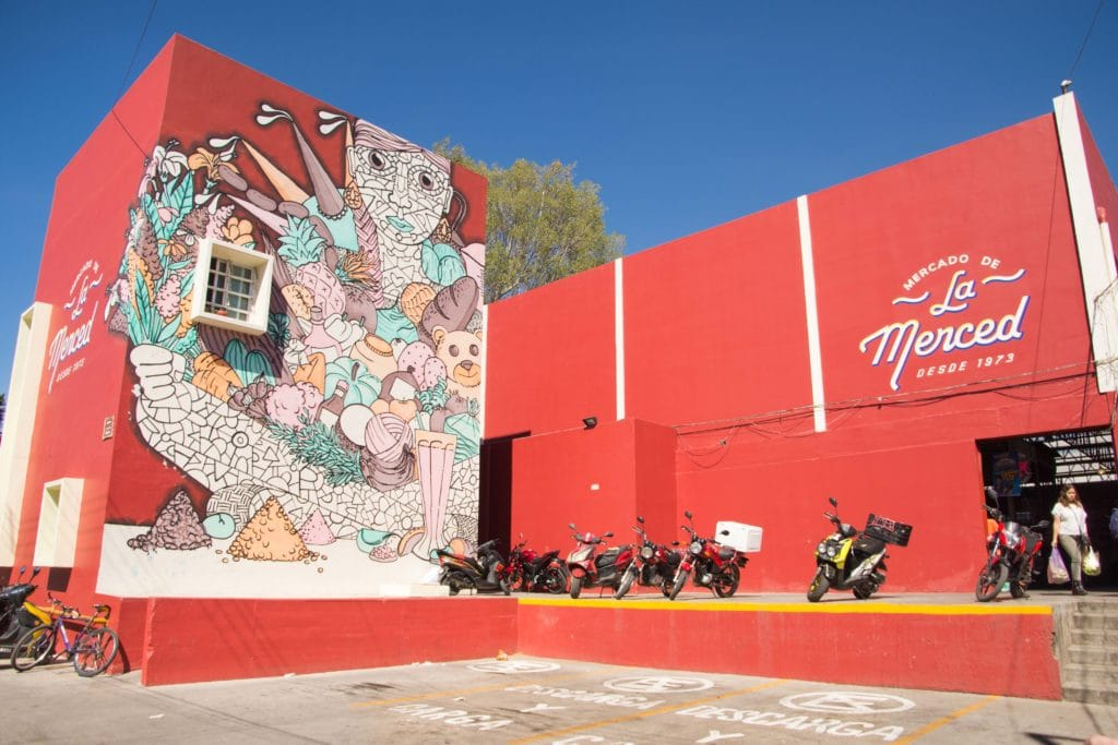 La Merced in Oaxaca