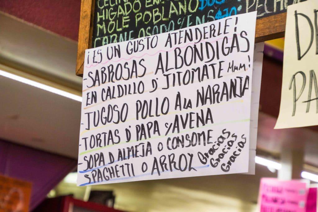 Mercado San Juan Acros de Belen
