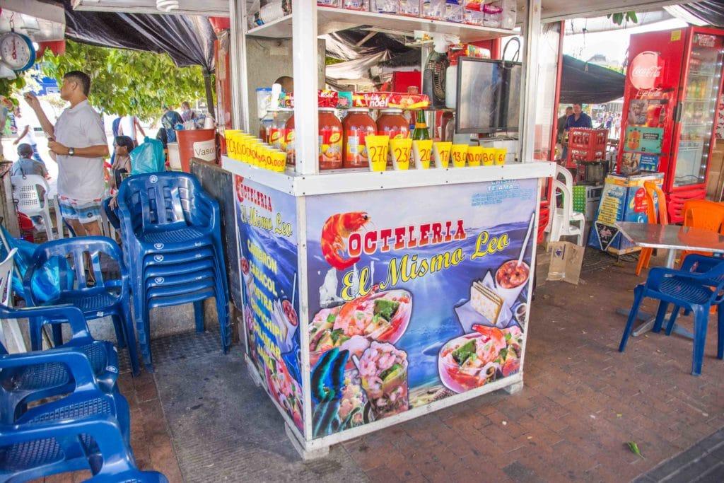 Essen in Cartagena: Ein Klassiker mit Shrimps