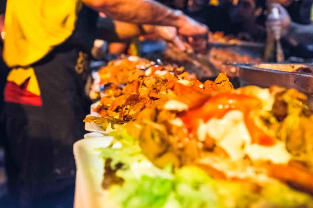 Essen in Cartagena