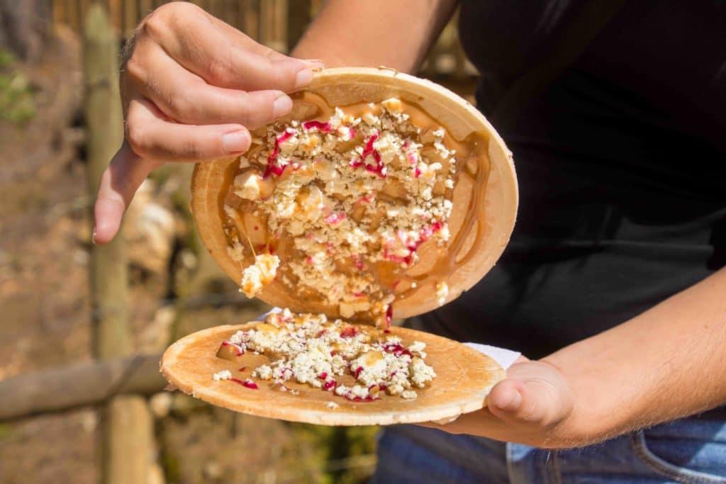 Typisches Dessert in Kolumbien