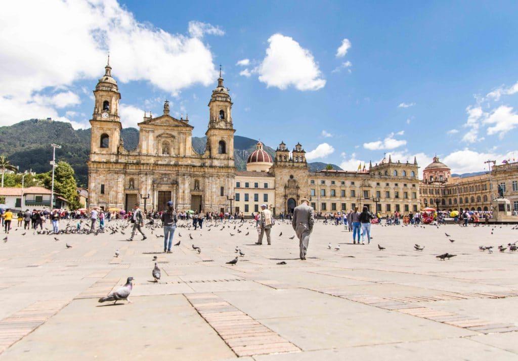 Die Hauptstadt Bogota