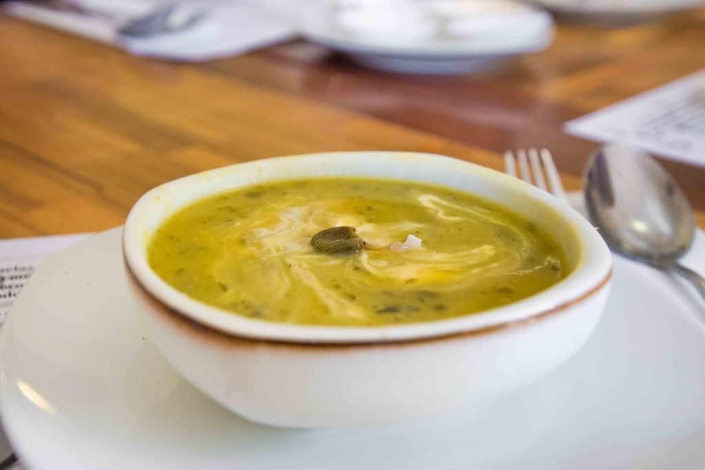 Ajiaco - die beste Suppe in Bogota