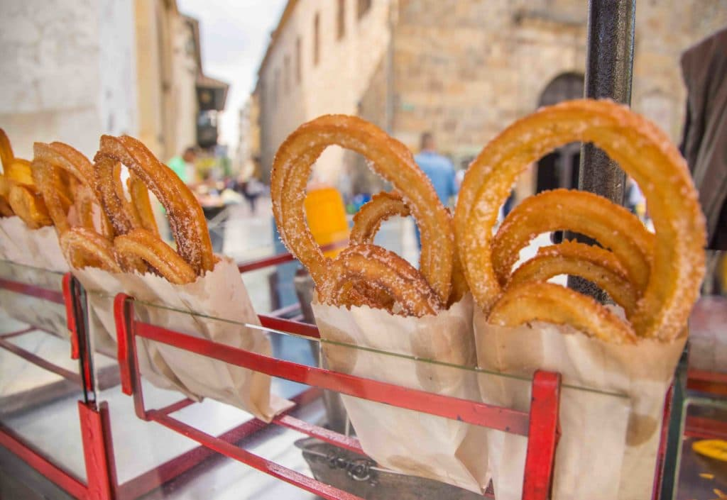 Churros in Kolumbien