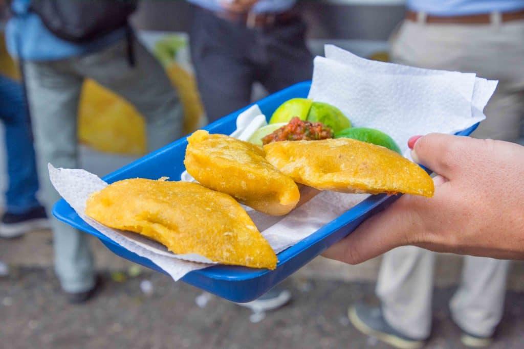 DAS Medellin Essen: Empanadas