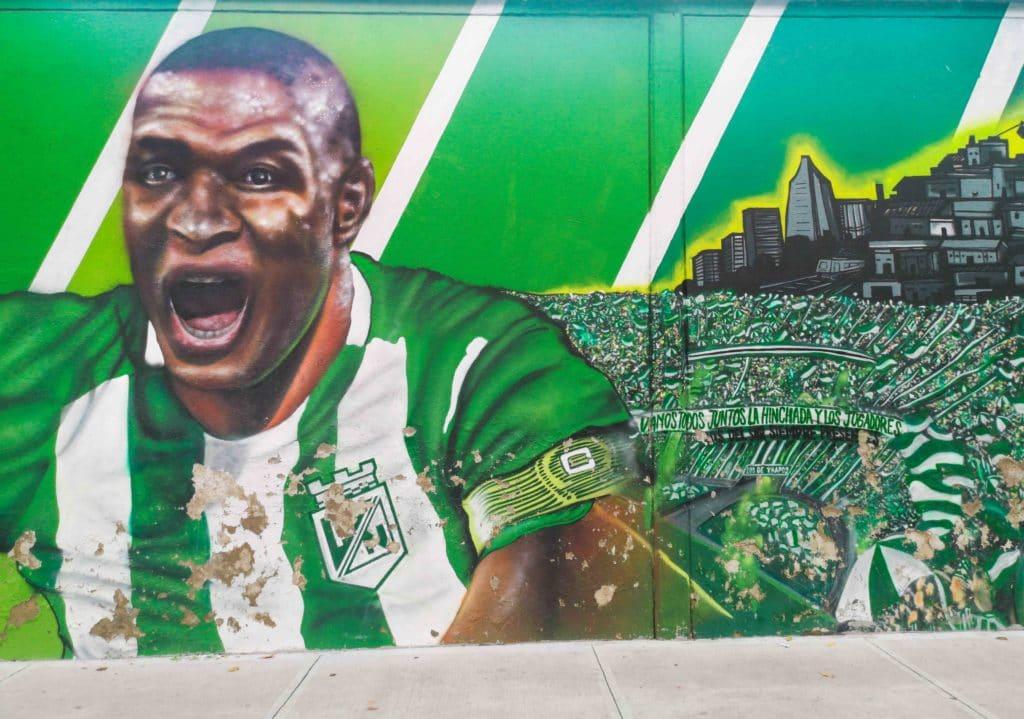 Fussball ist in Medellin sehr wichtig