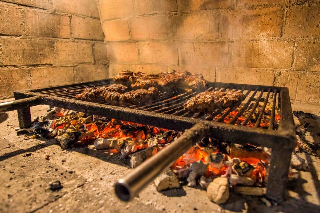 Grill in Kroatien