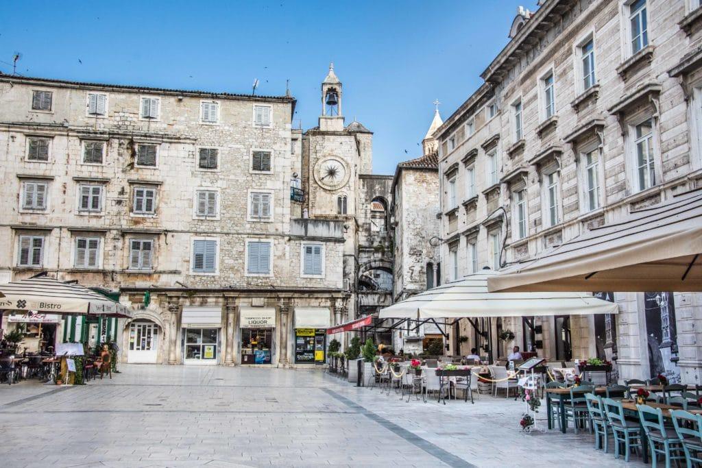 Wunderschöne Altstadt von Split