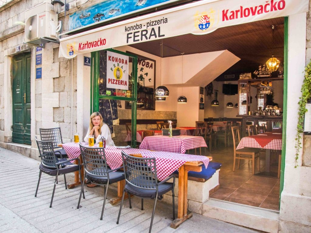 Top Restaurants Split: Konoba Feral