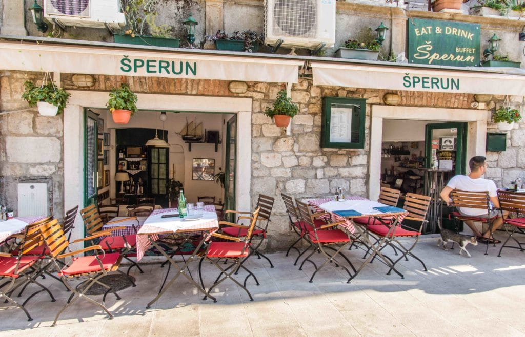 Top Restaurants Split: Sperun