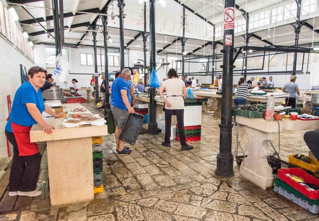 Fischmarkt in Split