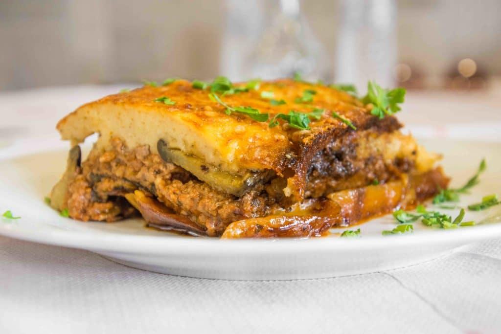 Moussaka: der Star des griechisches Essens