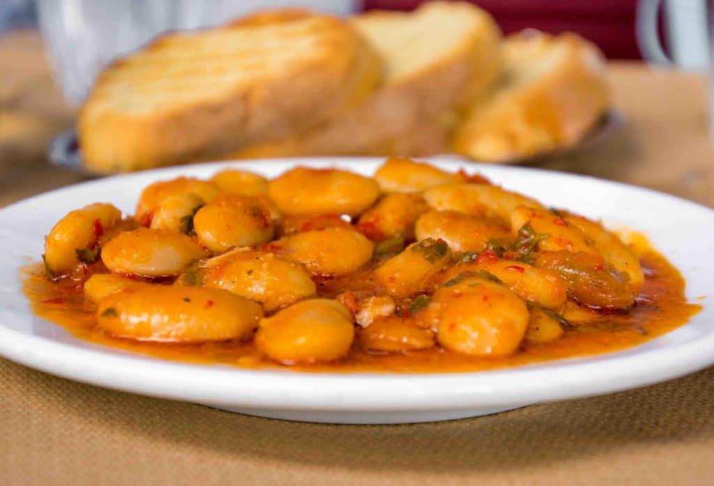 Gigantes, vegetarisches griechisches Essen