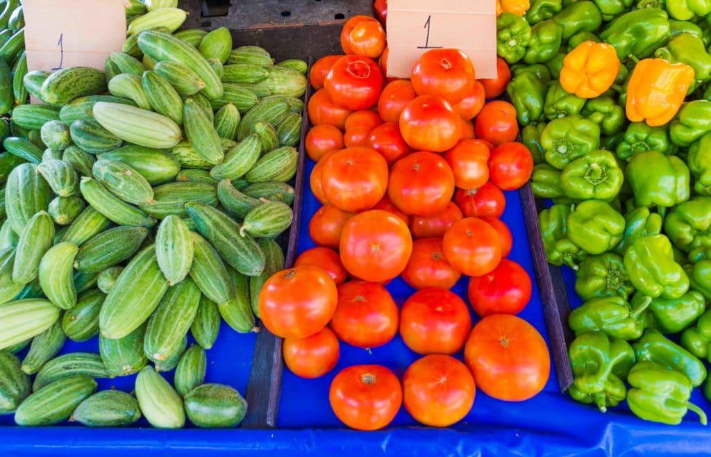 Frisches Gemüse als Tipp für Kreta