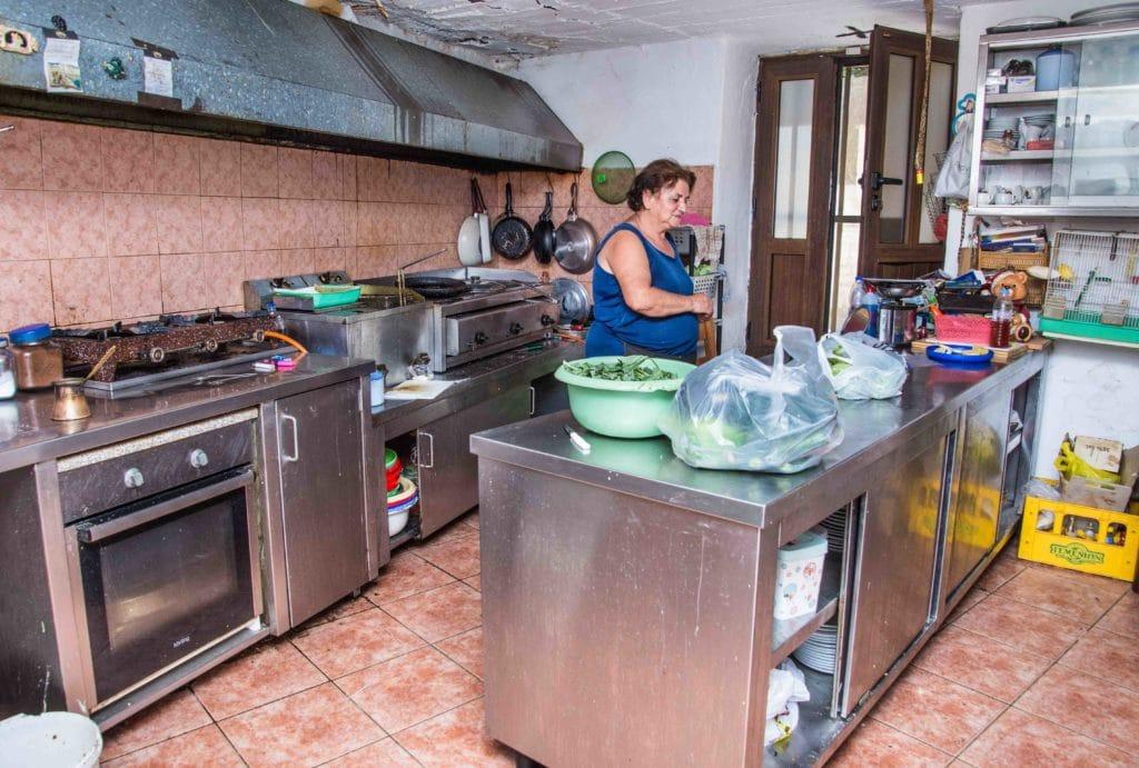 Eines der urigsten Restaurants auf Kreta