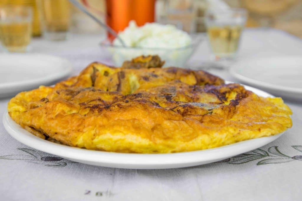 Omlette - typisch für Kreta