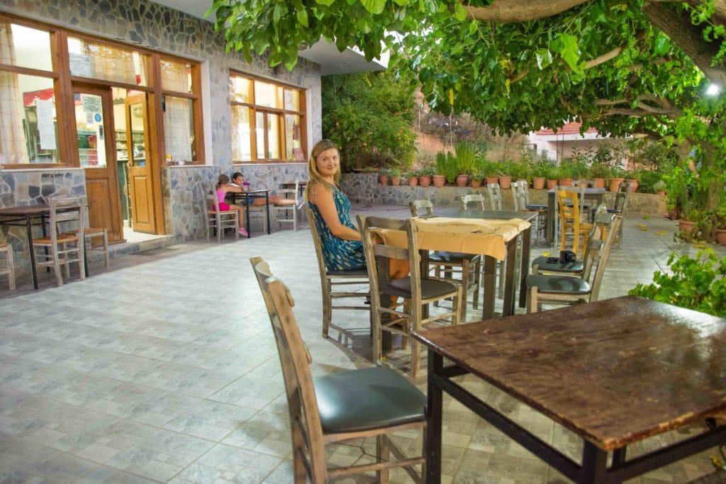 Die Griechen kommen erst gegen 21 Uhr zum Abendessen