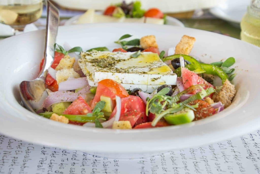 Restaurants auf Kreta bieten fast immer lokale Produkte an