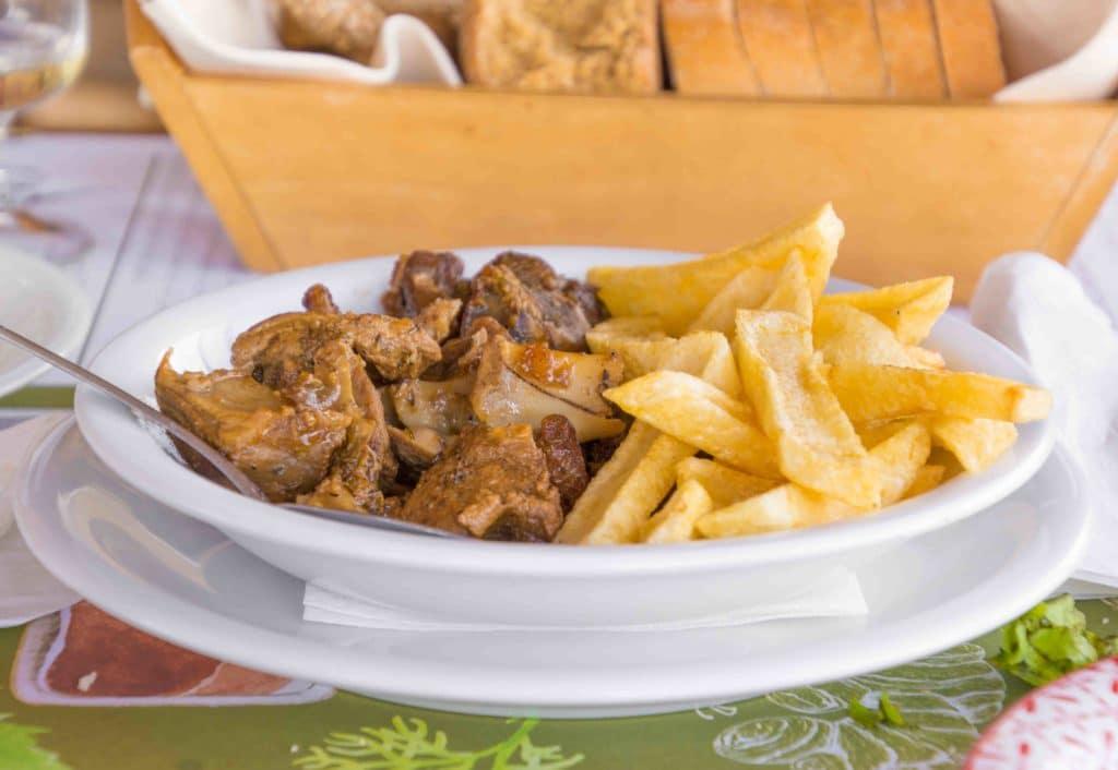 Lamm als festliches griechisches Essen